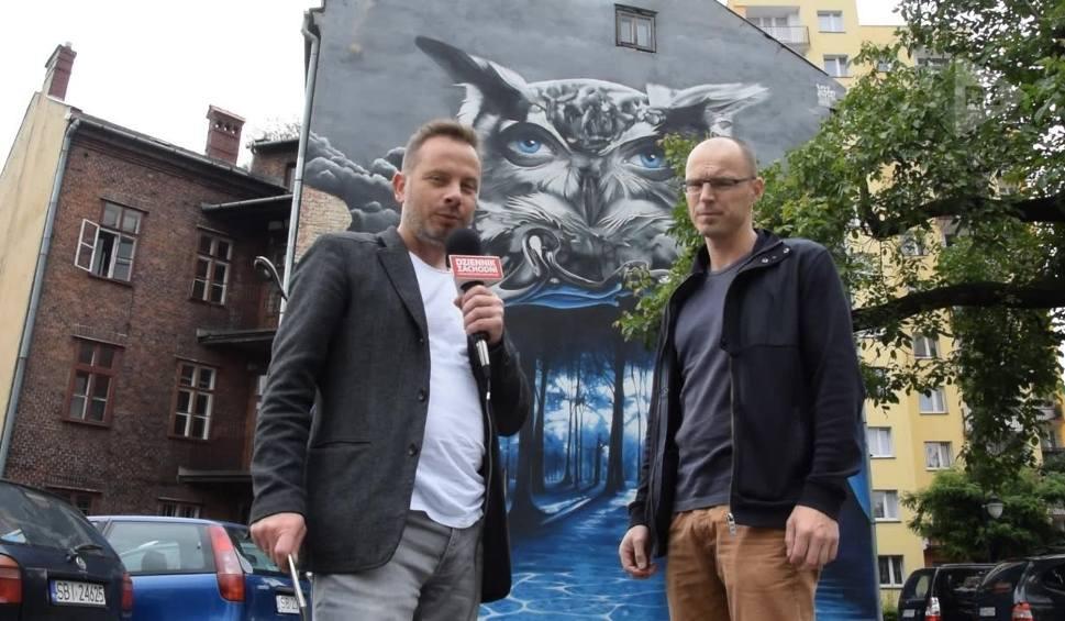 Film do artykułu: Kocham Beskidy, bo... ODC 32 Murale w Bielsku-Białej. Wiele z nich nawiązuje do Beskidów WIDEO
