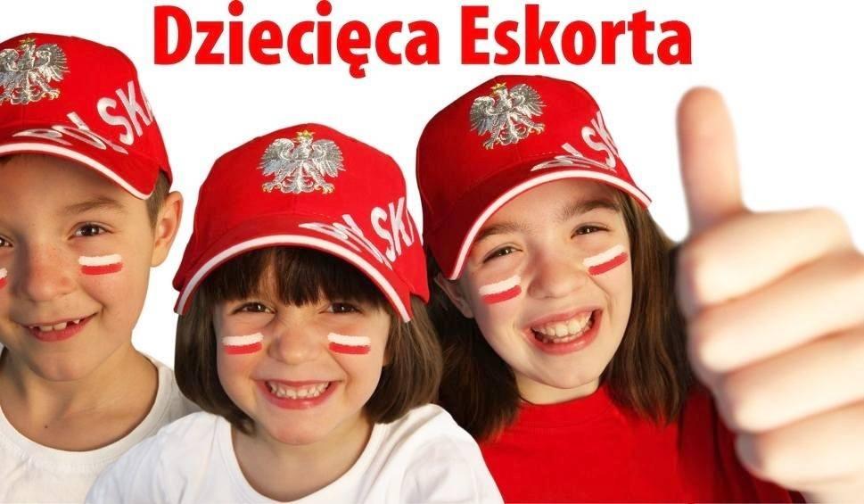 Eskorta na meczu Polska - Białoruś. Zgłoś swoje dziecko!
