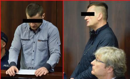 Właściciel fabryki mebli w Łęce Mroczeńskiej Michał A. jest jeszcze na wolności, ale czeka go 6 lat odsiadki w więzieniu. Z lewej siedzący w areszcie