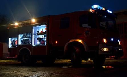 Pożar w Chwałowicach: doszło do eksplozji w budynku obok kopalni