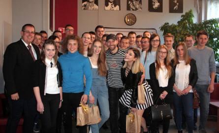 Uczniowie ZSP nr 2 w Łowiczu na wycieczce do Warszawy