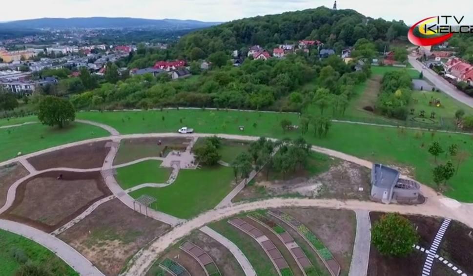 Film do artykułu: Tak powstaje kielecki ogród botaniczny [WIDEO z lotu ptaka]