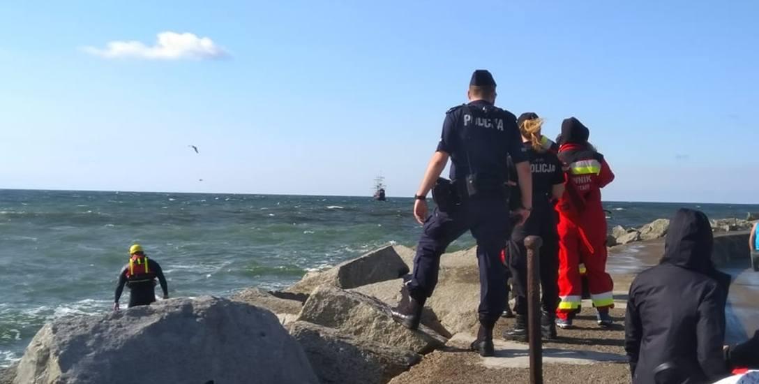 Dramat w Darłowie. Morze zabrało troje nastolatków