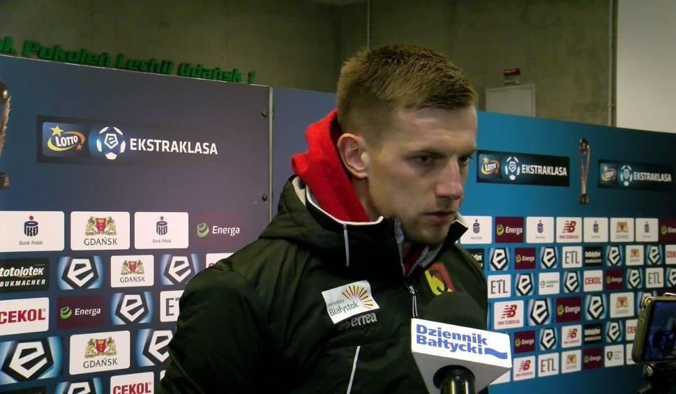 Film do artykułu: Łukasz Burliga po meczu z Lechią: Zabrakło nam szczęścia
