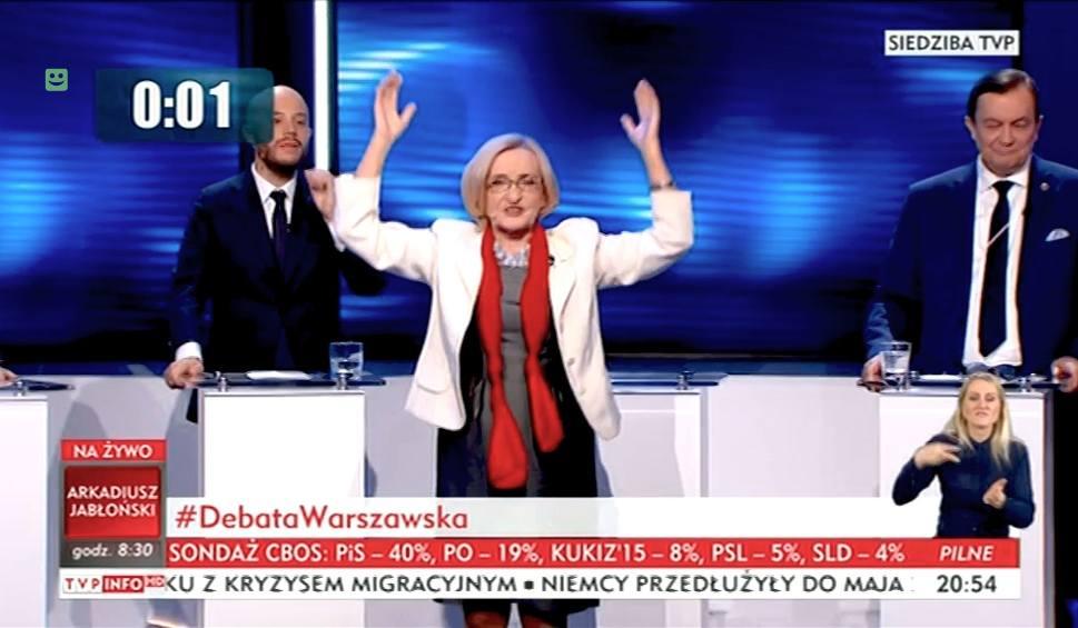 Film do artykułu: Wybory samorządowe 2018: Krystyna Krzekotowska, Paweł Tanajno i Jan Potocki, czyli kandydaci na prezydenta Warszawy z innej bajki