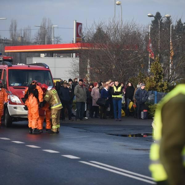 Ewakuacja na dworcu PKS w Toruniu! Zobaczcie zdjęcia!