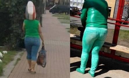 """Stylizacja """"na żabkę"""" (z prawej) jest absolutnym hitem profilu."""