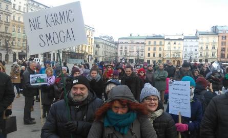 Czysty Protest, demonstracja antysmogowa w Krakowie