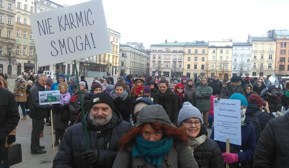 Film do artykułu: Czysty Protest, demonstracja antysmogowa w Krakowie