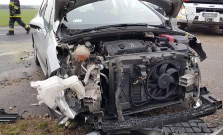 Wypadek pod Strzelcami Opolskimi.