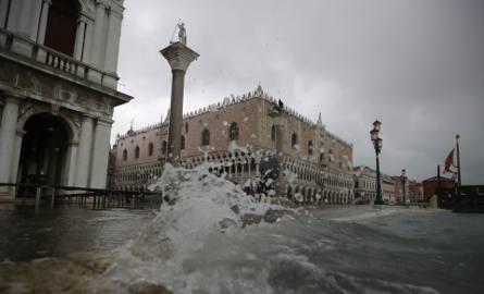 Kolejna wielka woda zbliża się do Wenecji. Ma osiągnąć poziom 160 centymetrów