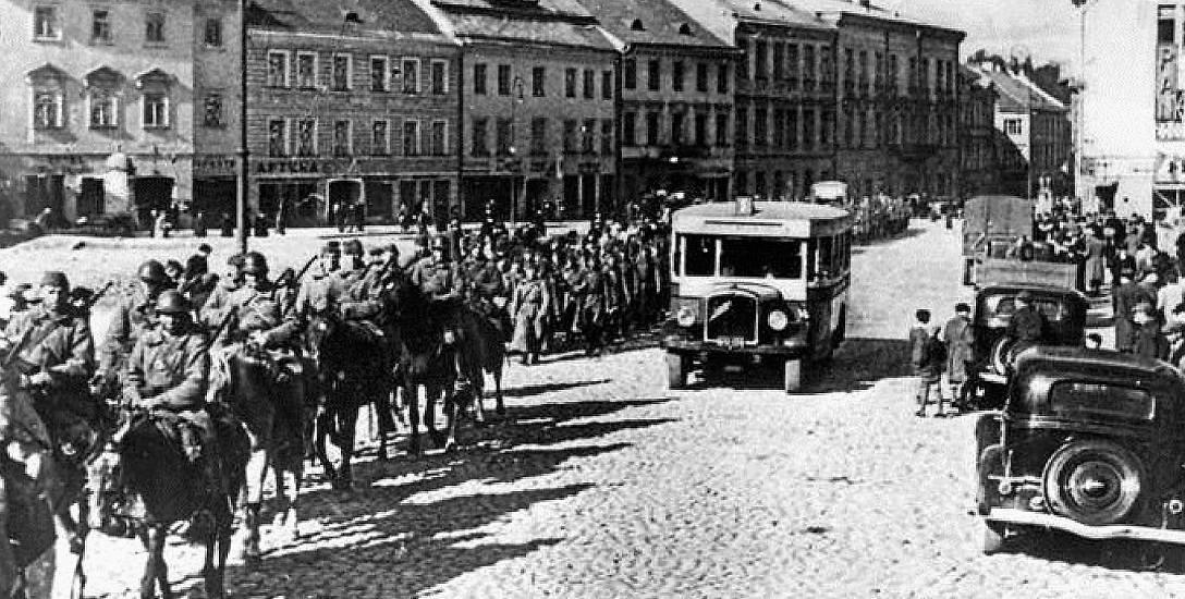 Wkroczenie Armii Czerwonej do Wilna 19 września 1939 r.
