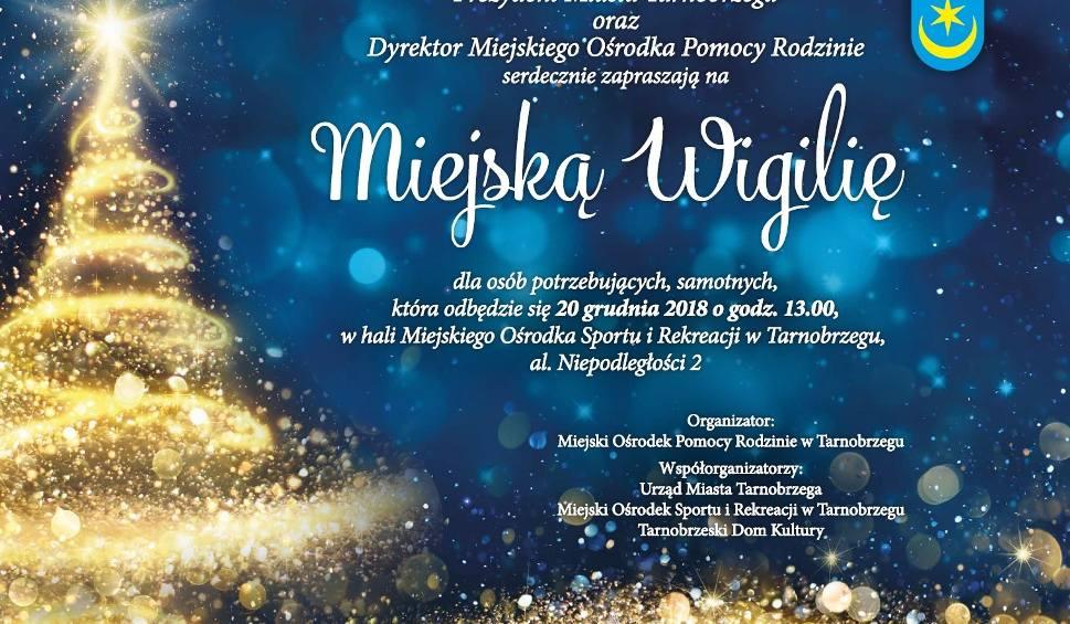 Film do artykułu: Miejska Wigilia w Tarnobrzegu w czwartek 20 grudnia