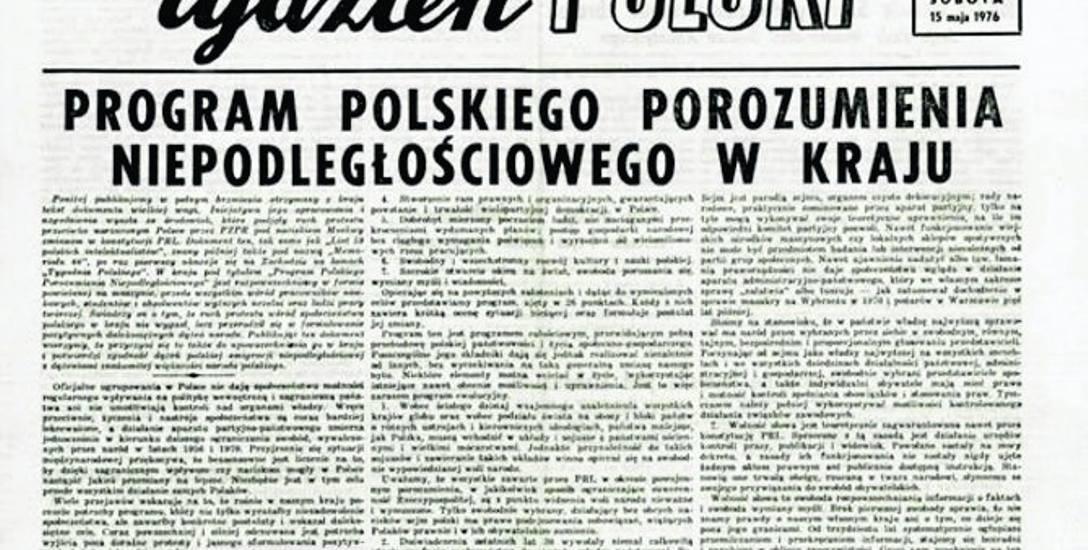 Projekt PPN zakładał pełną niezależność Polski od ZSRS, zarówno w wymiarze politycznym jak i gospodarczym