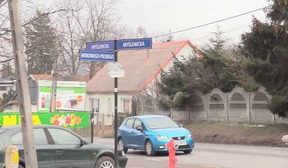 Film do artykułu: Kraków. Przebudowa ulicy Myślenickiej ze zwężeniami