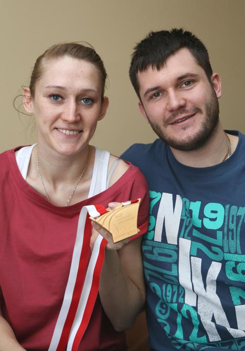 Złoto mistrzostw świata to wspólne trofeum małżeńskiego duetu: Kamili i Michała.