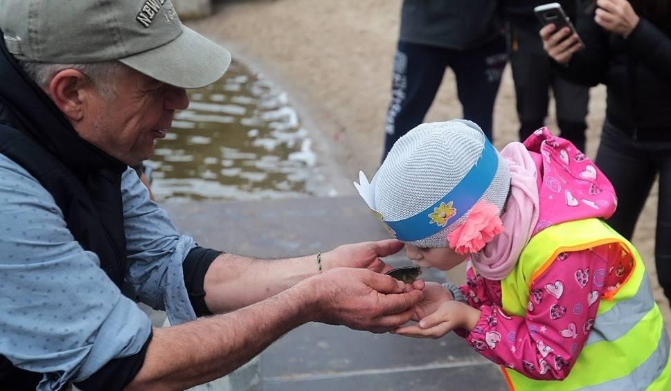 Film do artykułu: Przedszkolaki zarybiały Jezioro Głębokie i uczyły się ekologii [ZDJĘCIA, WIDEO]
