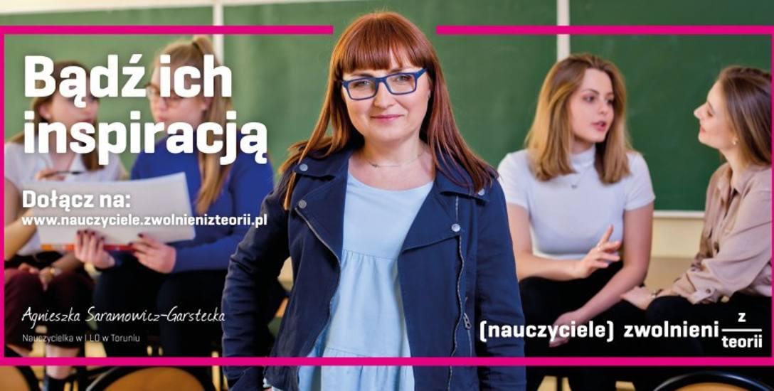 Agnieszka Saramowicz-Garstecka, anglistka z Torunia, bohaterka kampanii Zwolnieni z Teorii.