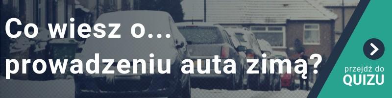 Co wiesz o prowadzeniu auta zimą? QUIZ