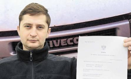 Krzysztof Czerwień aż 3 lata walczył o swoje pieniądze