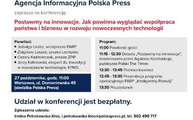 Polska to dobre miejsce dla innowacji