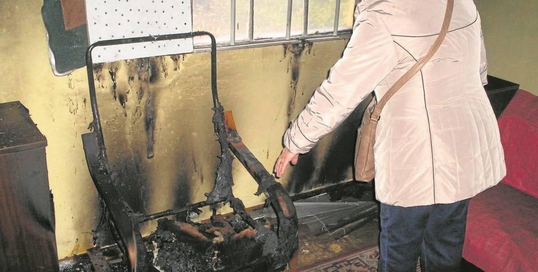 Chcieli   spalić  altanę!
