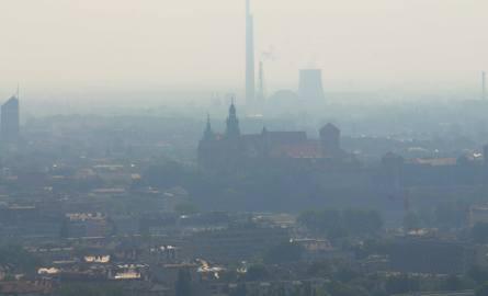 Smog w Krakowie. I stopień zagrożenia zanieczyszczeniem powietrza