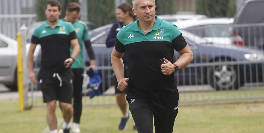 Grzegorz Opaliński, trener Siarki Tarnobrzeg: Siarka to ambitny klub, chcemy być też taką drużyną. Faworytów do awansu jest kilku