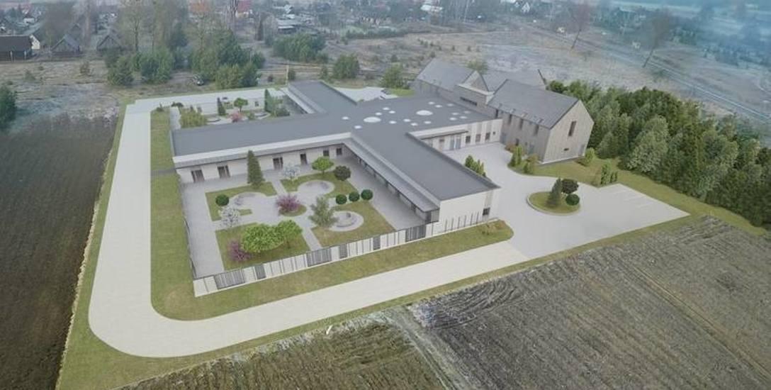 Tak ma wyglądać hospicjum stacjonarne, które ma powstać we wsi Makówka w gminie Narew. Jego budowa uzależniona jest od datków ludzi dobrej woli