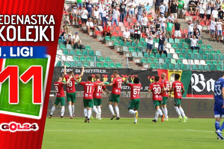 Jedenastka 4. kolejki Fortuna 1 Ligi GOL24.pl!