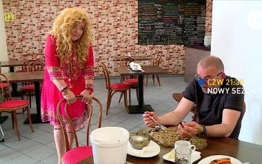 Magda Gessler odwiedziła The Best Bar w Ostrowie Wlk. Lokal zmienił nazwę po Kuchennych rewolucjach - od teraz to bistro Chłop i Baba.