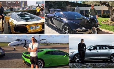 Gwiazdy światowej mogą liczyć na bajońskie wynagrodzenia, dlatego nie może dziwić, że w ich garażach znajdują się niezwykle luksusowe auta. Sprawdź,