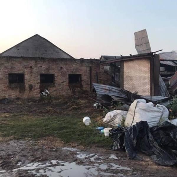 Konopki-Jałbrzyków Stok. Wielki pożar we wsi. Straty na milion złotych! (zdjęcia)