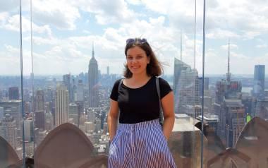 Zuzanna Kuffel w Nowym Jorku