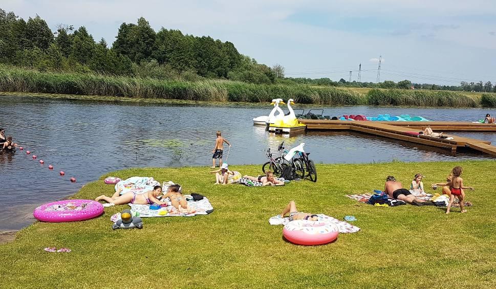 Film do artykułu: Kąpielisko nad Jeziorem Kozienickim w Ośrodku Wypoczynkowym Kozienickiego Centrum Rekreacji i Sportu ruszyło!