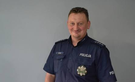 Asp. szt. Kazimierz Wielgus z Komisariatu Policji w Rydułtowach.