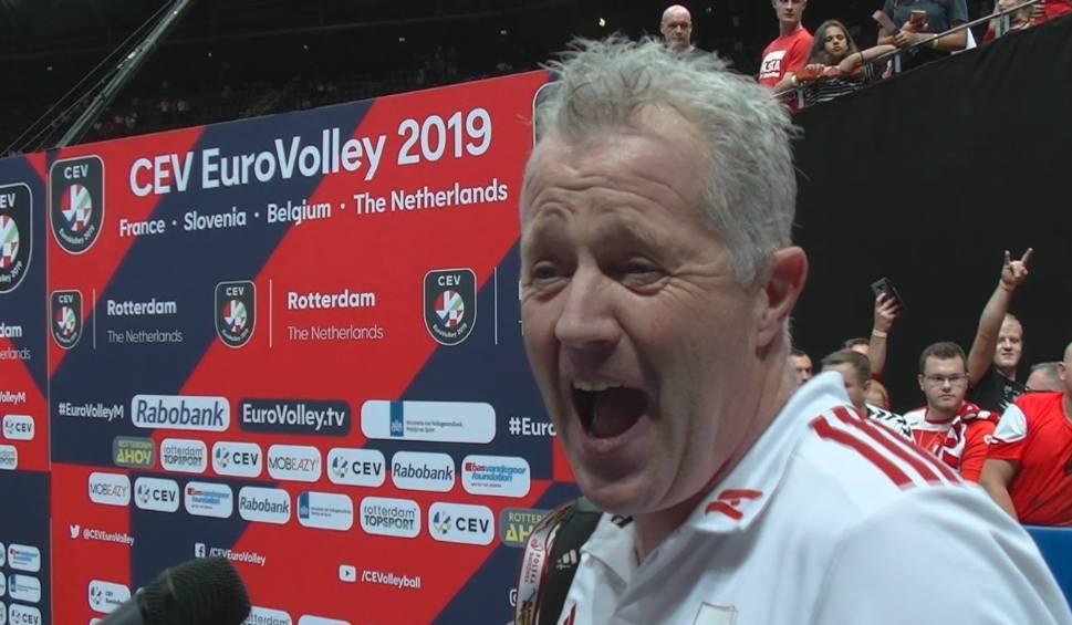Film do artykułu: Vital Heynen po meczu z Holandią: Polscy kibice byli niesamowici!