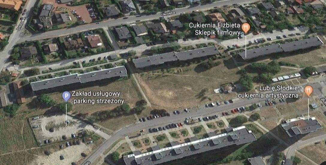 Tematem spotkania będzie wielka, zielona działka przy ul. Kazimierza Wielkiego (przed czteropiętrowcami)