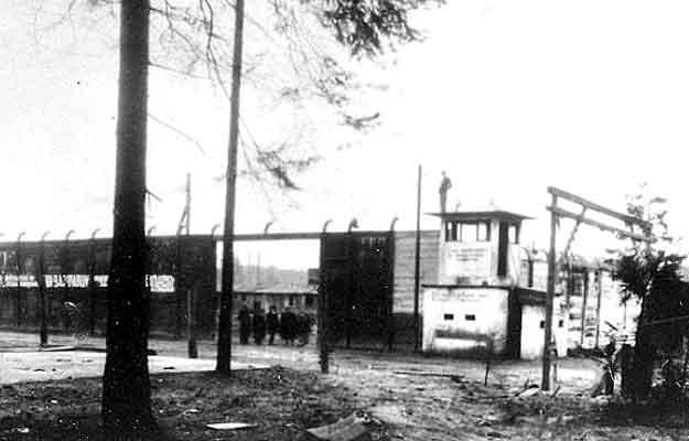Tak wyglądał obóz już po drugiej wojnie światowekj