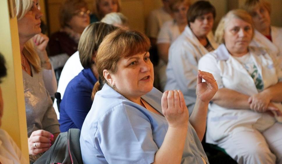 Film do artykułu: Szpital w Łapach. Jest plan ratunku. Zwolnień nie będzie (zdjęcia, wideo)