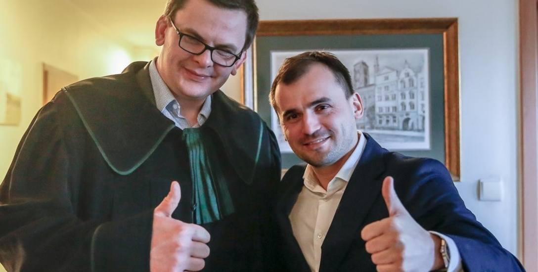 Marcin Dubieniecki w Okregowej Radzie Adwokackiej