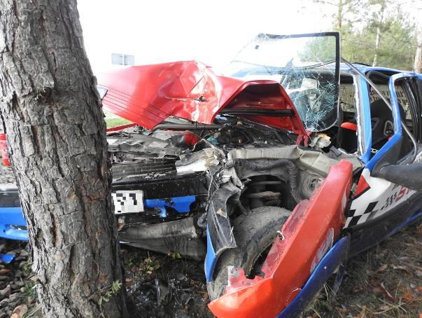 Groźny wypadek podczas urodzin Toru Wschodzący Białystok (zdjęcia)