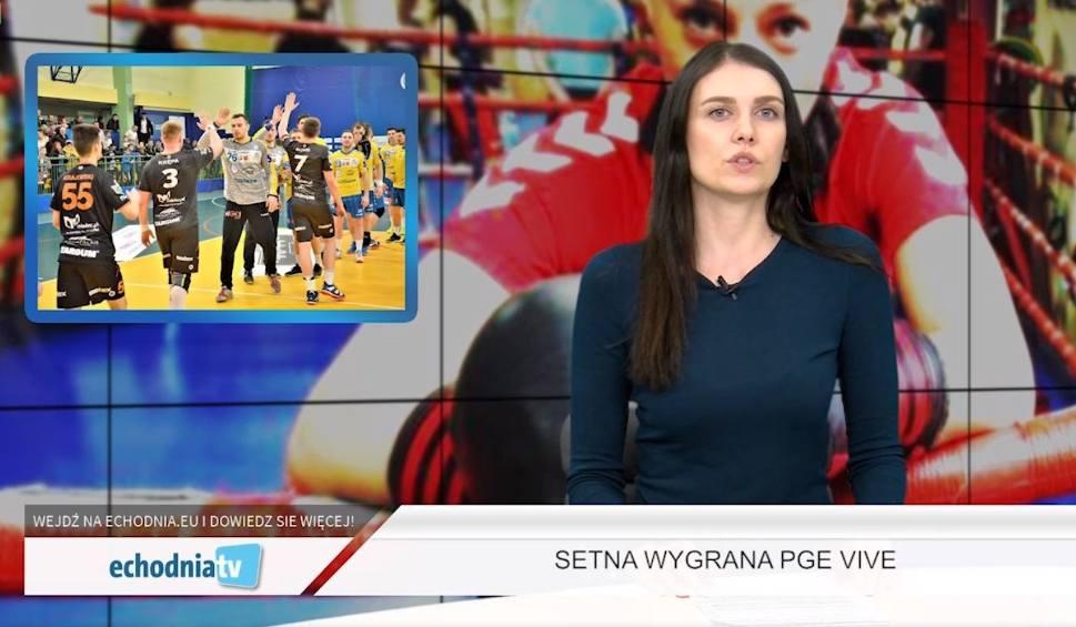 Film do artykułu: Wiadomości Sportowe Echa Dnia. Niezwykły rekord PGE Vive Kielce