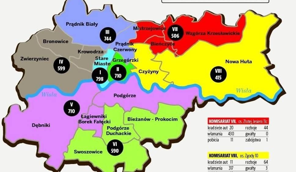 Mapa Dzielnice Krakowa Gazetakrakowska Pl