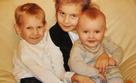 Trójka wnuków - najważniejsze osoby w życiu Eugeniusza Pikusa.