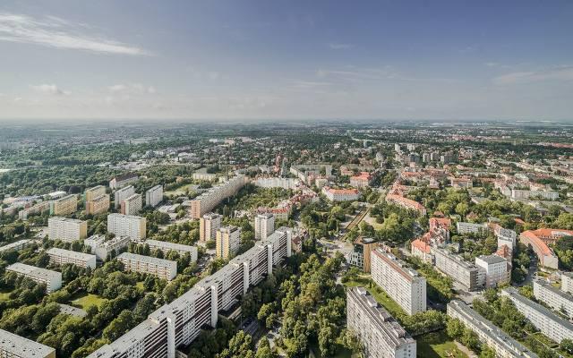 Apartamenty w Sky Tower zajmują piętra od 12. do 48. To gwarantuje niepowtarzalny widok z okna – przy dobrej pogodzie widoczność może wynosić 100 km