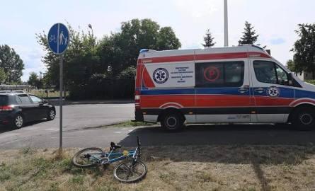 Wypadek na ścieżce rowerowej w Ostrowcu. Potrącił jadące dziecko i uciekł. Szuka go policja