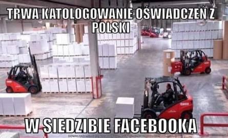 Oświadczenia na facebooku 2019. Pojawił się nowy łańcuszek. Ludzie wklejają oświadczenie na swoje FB