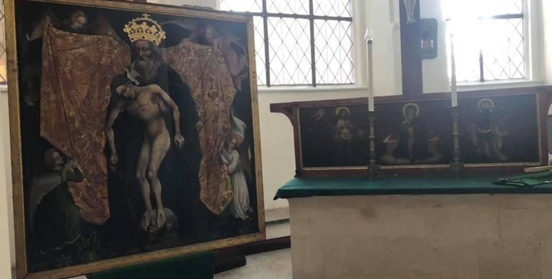 Zabytki już w Gdańsku. Podróż powrotną poprzedziło liturgiczne pożegnanie, które miało miejsce  w kościele św. Jana w Berlinie