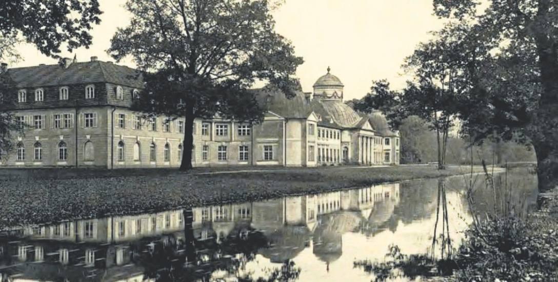 Milicz, Pałac Maltzanów w początkach XX wieku. Dzisiaj mieści się tu Zespół Szkół Przyrodniczych